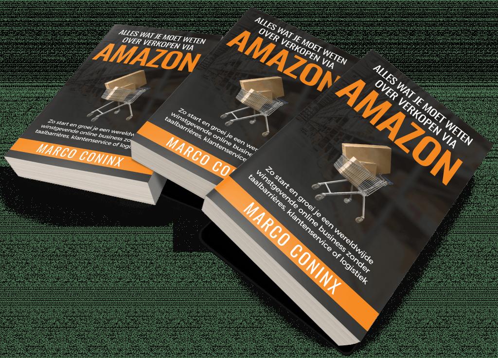 Claim jouw gratis boek: Alles Wat Je Moet Weten Over Verkopen Via Amazon Boek Van Marco Coninx